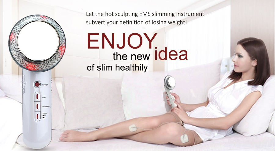 Goodwind CM-4 Body Skin Massager Device Beauty Health Care Ultrasonic Slimming EMS Tens Electrode Pads Infrared Anti Cellulite  Goodwind CM-4 Body Skin Massager Device Beauty Health Care Ultrasonic Slimming EMS Tens Electrode Pads Infrared Anti Cellulite