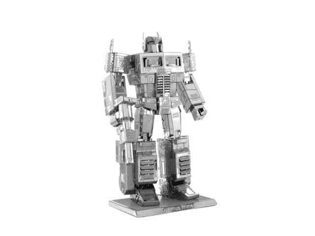 3D DIY Metal build model adult educational diy toys Jigsaw Puzzle Robots Optimus Prime - The world of small commodities store