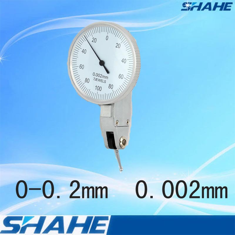 free shipping 0.002 mm dial test indicators measuring indicators dial test indicator level indicator(China (Mainland))