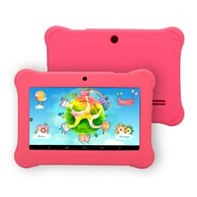 """iRULU Y1 7"""" BabyPad For Kids Education Quad Core Android Tablet PC for Children  0.3MP RAM1GB ROM8GB silicone Case Gift Hot(China (Mainland))"""