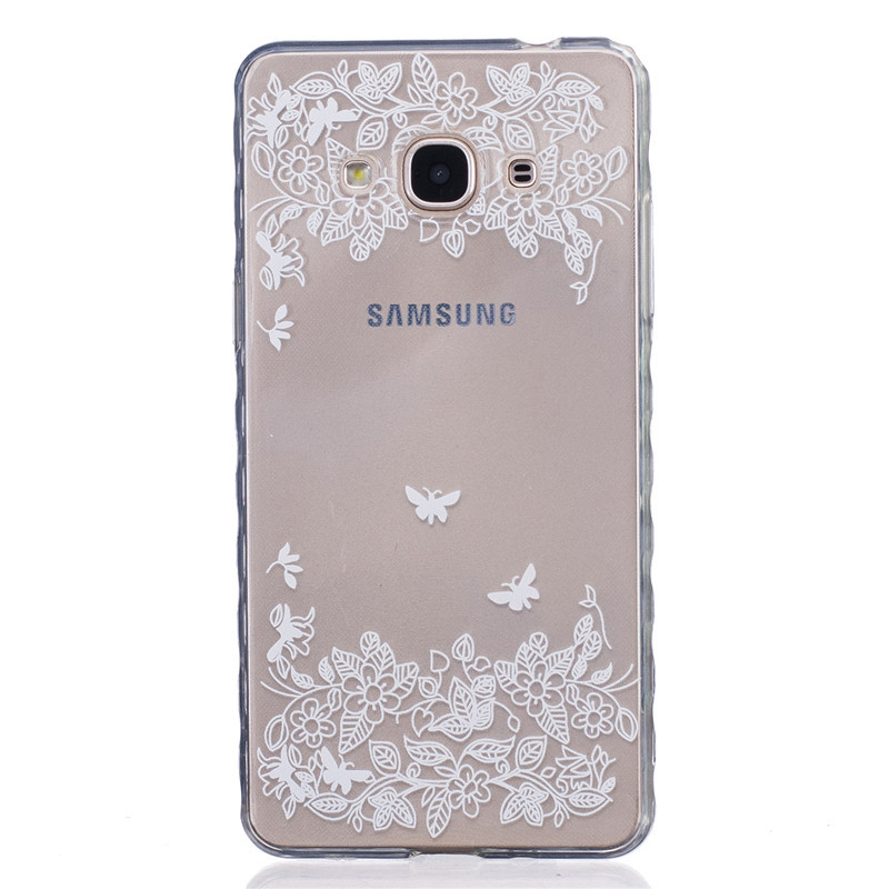 Butterfly Owl Bear Transparent Soft TPU Phone Case For Sumsung Galaxy J3 Pro J3110 SM-J3119 J3118 Cartoon Silicon Back Cover