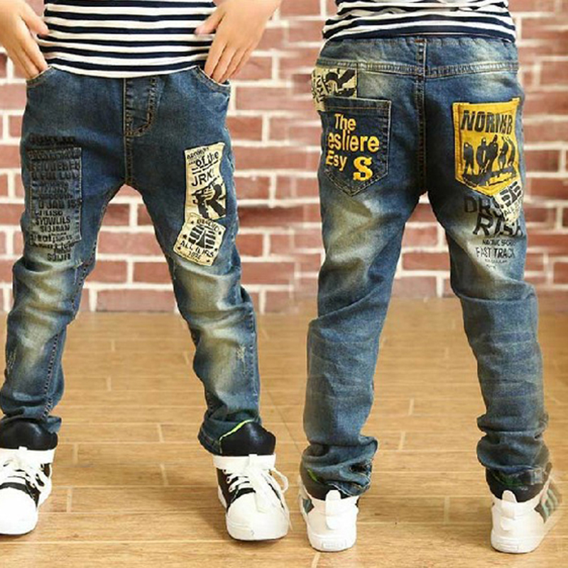 high quality fashion children jeans for boys,slim fit  Korean childrens pants,baby boys pants,kids boy jeans,free shipping<br><br>Aliexpress