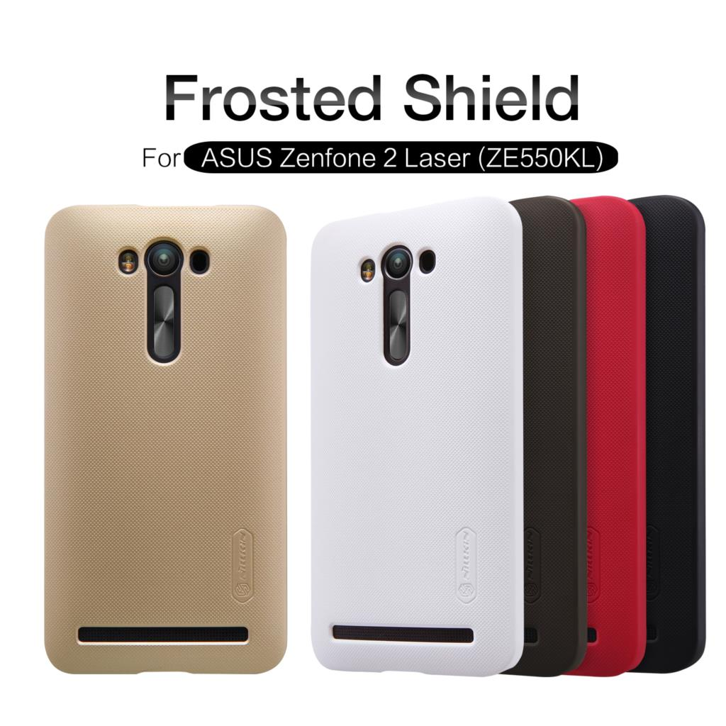 Nillkin Asus ZenFone 2 Laser ZE550KL Case Hight Quality Protector Back Cover Frosted Shield +Screen  -  HON ELECTRONICS CO LTD store