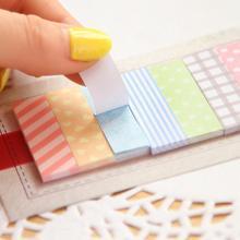 Nette 160 Seiten Aufkleber Schulbedarf Memo Flaggen Mini Haftnotizen Notizblock Mädchen Geschenke(China (Mainland))