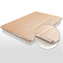 Luxury Ultrathin Case For iPad Mini 4 With Transparent Back cover For iPad Mini4 Smart Automatic