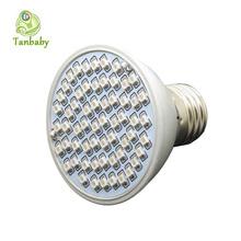 Tanbaby 5W E27 Plant Grow light 60led SMD 3528 AC220V 20Blue 40Red led full full spectrum plant bulb for flower  vegetable(China (Mainland))