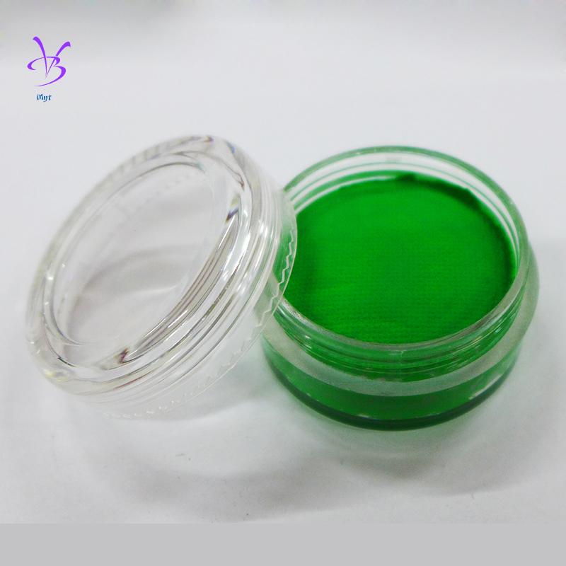 Wholesale Myt 100pcs 10g Fluorescent Face Body Paint Pure Plant Makeup Party Neno Face Paints Tatoo(China (Mainland))