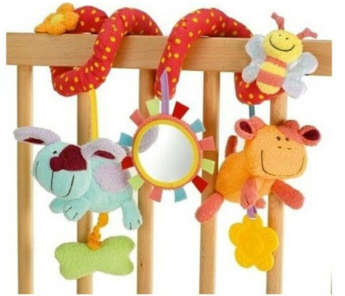 infant Toys Baby rattles crib mobile around the bed Bell stroller toy Multifunctional car lathe hanging Educational for Kids(China (Mainland))