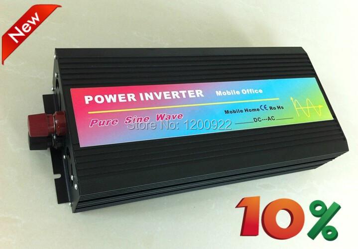 Best quality!!4000w pure sine wave power inverter(dc 12v/24v/24V to ac 110v/120v/220v/230v/240v(China (Mainland))