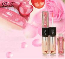 2015 Amazing colors waterproof 1Pc New Lip Gloss 2 IN 1 Vitamin Lipstick,Cosmetic Lip Gloss pen for women(China (Mainland))