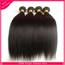 Brazilian silky straight virgin human hair Natural black color 1pc/bag 8-30inch unprocessed Brazilian virgin human hair(China (Mainland))