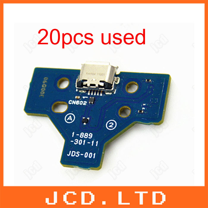 used LED Power/Charge Board w/ Power Button Ribbon Flex 14 Pins Cable For Sony PS4 Wireless Controller charging motherboard(China (Mainland))