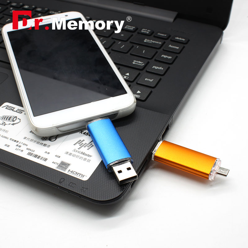 OTG USB flash drive 4g/8g/16g/32g Smart Phone Tablet PC pendrive real capacity U disk 64g usb stick card usb2.0 - Happy Dog store