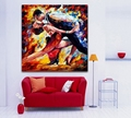 100 Handpainted Abstract Oil Painting Tango Dance Canvas Painting Palette Knife Wall Art Pictures Home Decor