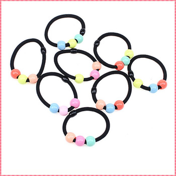 Candy color hair accessories women girl lady elastic hair bands cute fashion 2016 headwear hairbands free size ropes #JH062