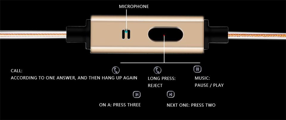 In Ear Music Earphone With Mic QKZ X7 Super Bass dj audifonos HIFI Stereo Earplug Noise Isolating Sport Earphone Monitor Headset