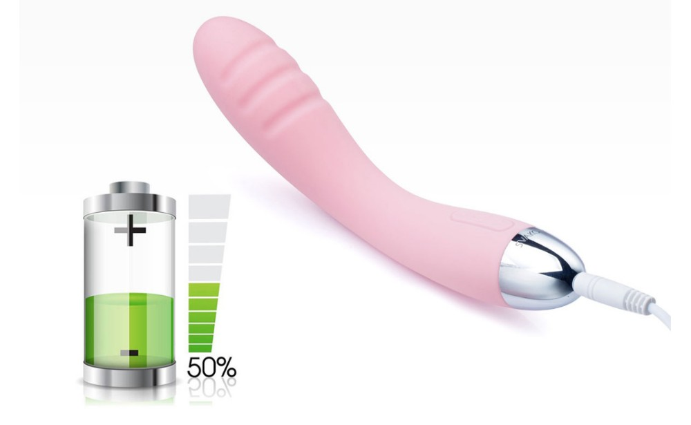 Sex Toys Ultra Soft Silicone Vibrator for G-spot 12
