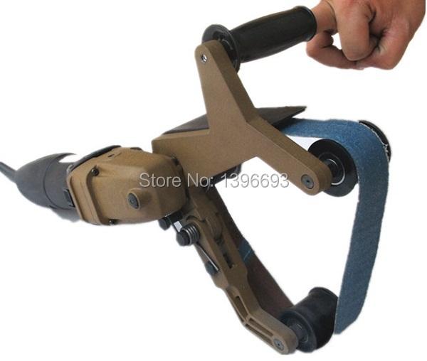 220V Tube belt sanders/ Polisher,portable polishing machine for stainless steel tube polishing Metal processing tool.(China (Mainland))
