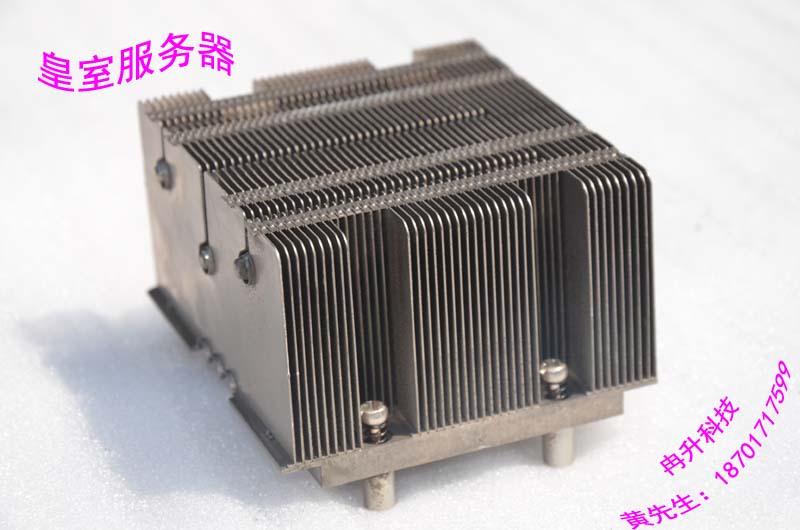 2U 771-pin CPU radiator 3 heat pipe aluminum S5000 5100 motherboard heatsink fins(China (Mainland))