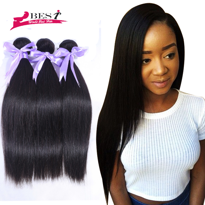 Grace Hair Products Brazilian Straight Virgin Hair Cheap Unprocessed Human Hair Bundles 100gVirgin Brazilian Straight Hair Weave