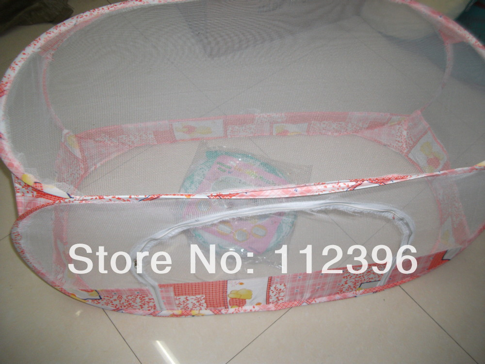 2016 new baby foldable cubic bedding set mosquito net cots baby bed apply for Spring Summer Autumn Winter(China (Mainland))