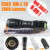 E6 2000 Lumen Zoomable CREE XM-L T6 LED 18650 Flashlight Torch Zoom Lamp Light for 3*AAA or 18650