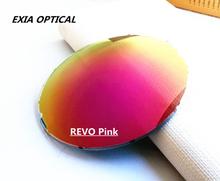 CR-39 1.499 Index Polarized Sunglasses Lenses REVO Flash Mirror Coated KD-189 Series
