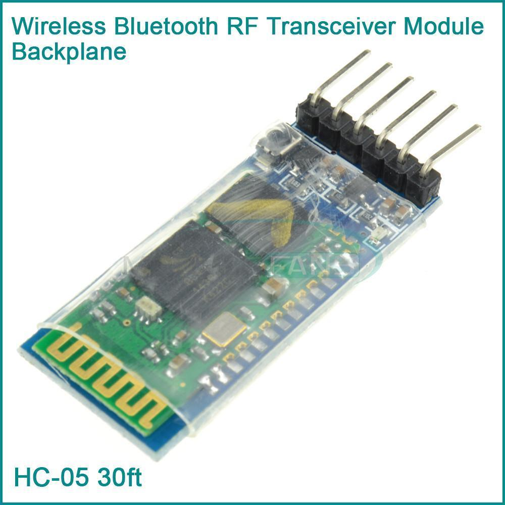 Wireless Serial 6 Pin Bluetooth RF Transceiver Module HC-05 RS232 Master Slave(China (Mainland))