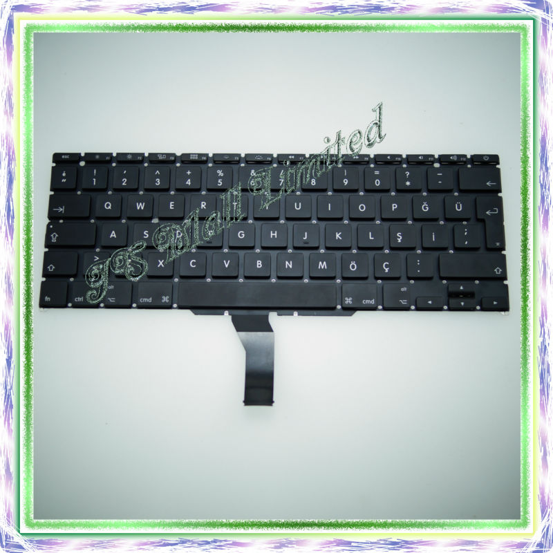 Brand New For Macbook Air 11 A1370 A1465 Turkey Turkish Keyboard 2011-2014 Years<br><br>Aliexpress