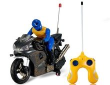 2028-37 Shock Absorption RC Motorcycle with Light Effects & Music(China (Mainland))