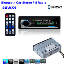 2016 Car Radio Stereo Player Bluetooth AUX-IN MP3 FM/USB/1 Din/remote control For Iphone 12V Car Audio Auto Support Smartphone(China (Mainland))