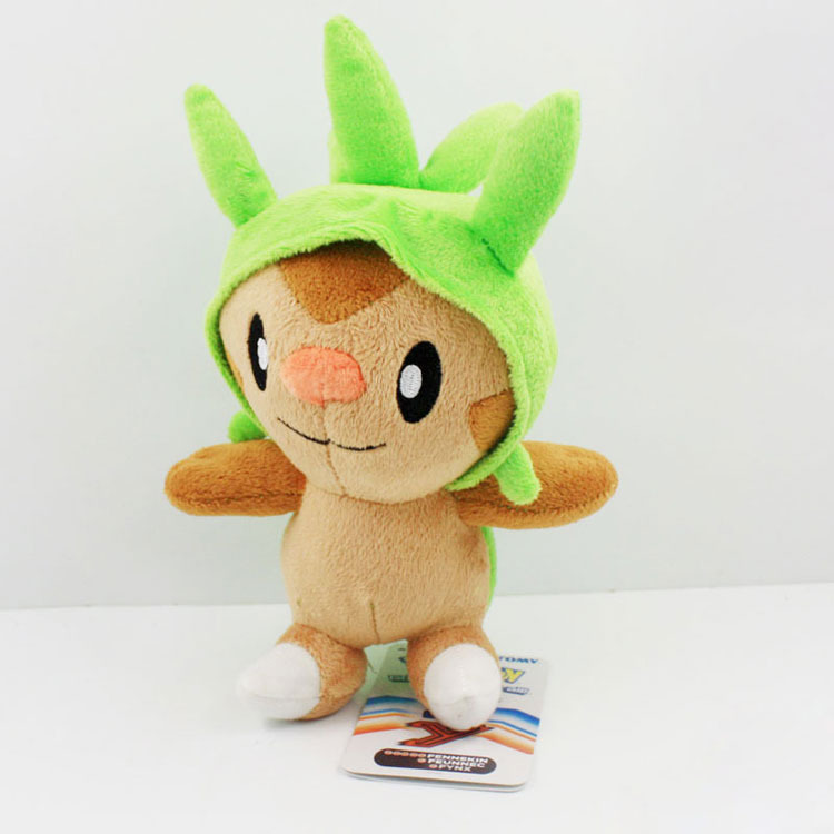 Pokemon XY Series Plush 18cm Chespin Plush Toys Doll With Tag Christams Gift 5pcs/lot<br><br>Aliexpress