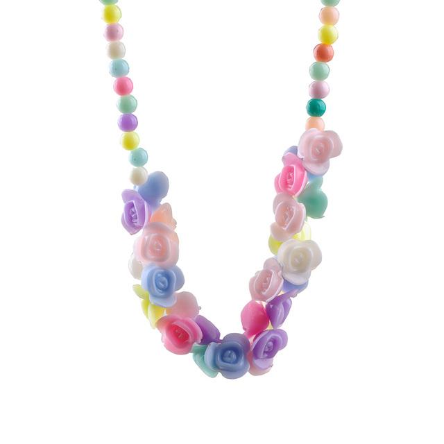 Люблю цветы дети браслета ожерелья ребенка сладкий ожерелье аксессуары для волос ...