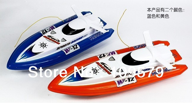Best selling,RC Boat 41cm R/C Racing Boat RC Electric Radio Remote Control Speed Ship rc Toys boats,Free shipping,1 PCS(China (Mainland))
