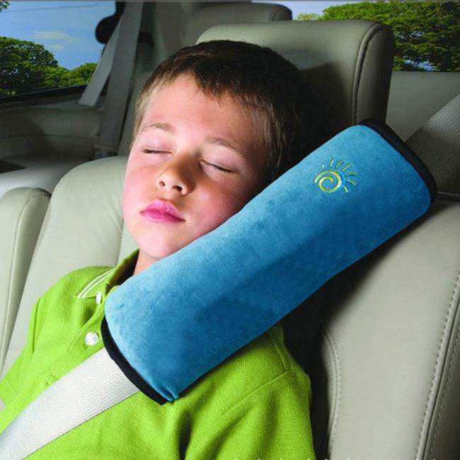 Freeshipping Baby Auto Pillow Car Safety Belt Protect Shoulder Pad adjust Vehicle Seat 4 Colors Belt Cushion for Kids Children(China (Mainland))