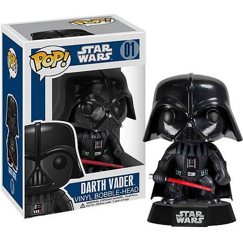 Funko Pop Figure 10cm 1pcs Star Wars Darth Vader Skywalker PVC Cute Action Figure Collection Kids Gifts Toys 1107(China (Mainland))