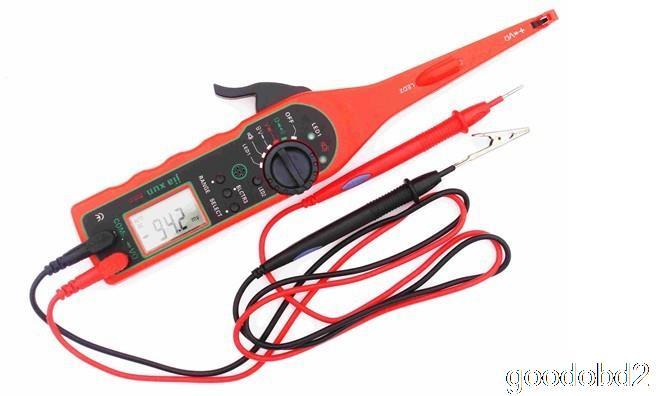 Многофункциональный автомобилей детектор авто цепи тестер мультиметр лампы ремонт автомобилей автомобильного электрооборудования мультиметр 0 В - 380 В напряжения P50