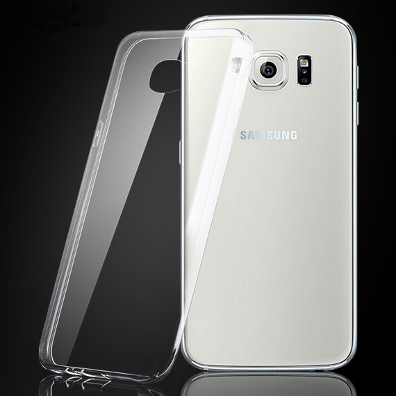 S6 Cases 0.3mm Super Slim Soft TPU Gel Case For Samsung Galaxy S6 G9200 Crystal Clear Rubber Back Cover Shell Bag For Galaxy S6(China (Mainland))