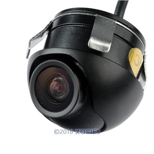 360 Ccd Car Vehicle Rear View Side/ Front Camera Back Up Spy Mini Cam Wide 120(China (Mainland))