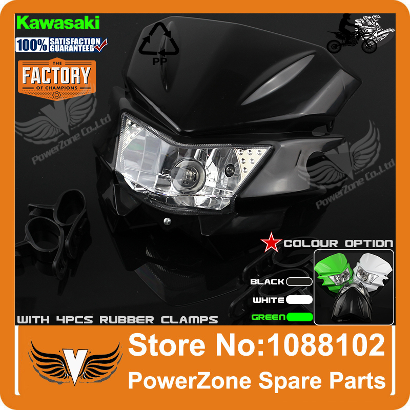 Motorcycle Universal Headlight Fit IRBIS TTR250 KLX150 250 KAYO T4 T6 Pit Pro Dirt Bike Motocross Free Shipping(China (Mainland))