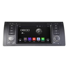 HD 1024*600 A9 Quad Core 1.6G CPU 16GB Flash Android 5.1.1 Car DVD Player Radio GPS Navi Stereo for BMW 5 Series X5 E53 E39 M5