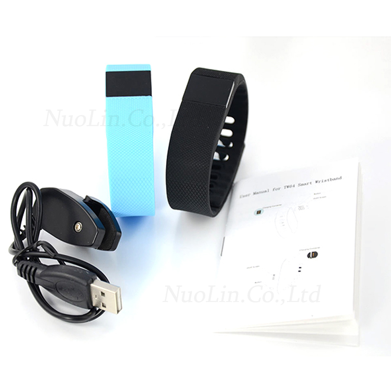 2015 tw64 Smartband Bluetooth 4 0 wristband better than xiaomi mi band Sport Fitness Tracker Smart