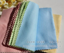 (10pcs) Multi glasses cleaning cloth for lens Microfiber glasses cleaner wipes 4 colors lens cloth(China (Mainland))