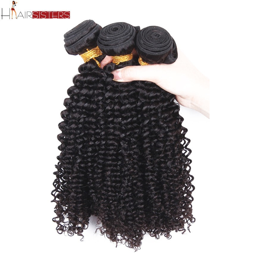 6A Grade Rosa Hair Products Malaysian Curly Hair Kinky Curly Virgin Hair Natural Black Malaysian Virgin Hair 3Pcs/Lot Loose curl(China (Mainland))