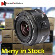 Many in Stock! YONGNUO Lens YN35mm F/2 Large Aperture Fixed Auto Focus Lens For Canon DSLR Camera 5Ds 5Dr  7D,35mm f2(China (Mainland))