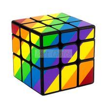 Newest YJ MoYu Unequal 56mm 3x3x3 Cast Coated magic cube Puzzle Cubes Professional Cubo kubik cubo magico kub Toys Gift(China (Mainland))