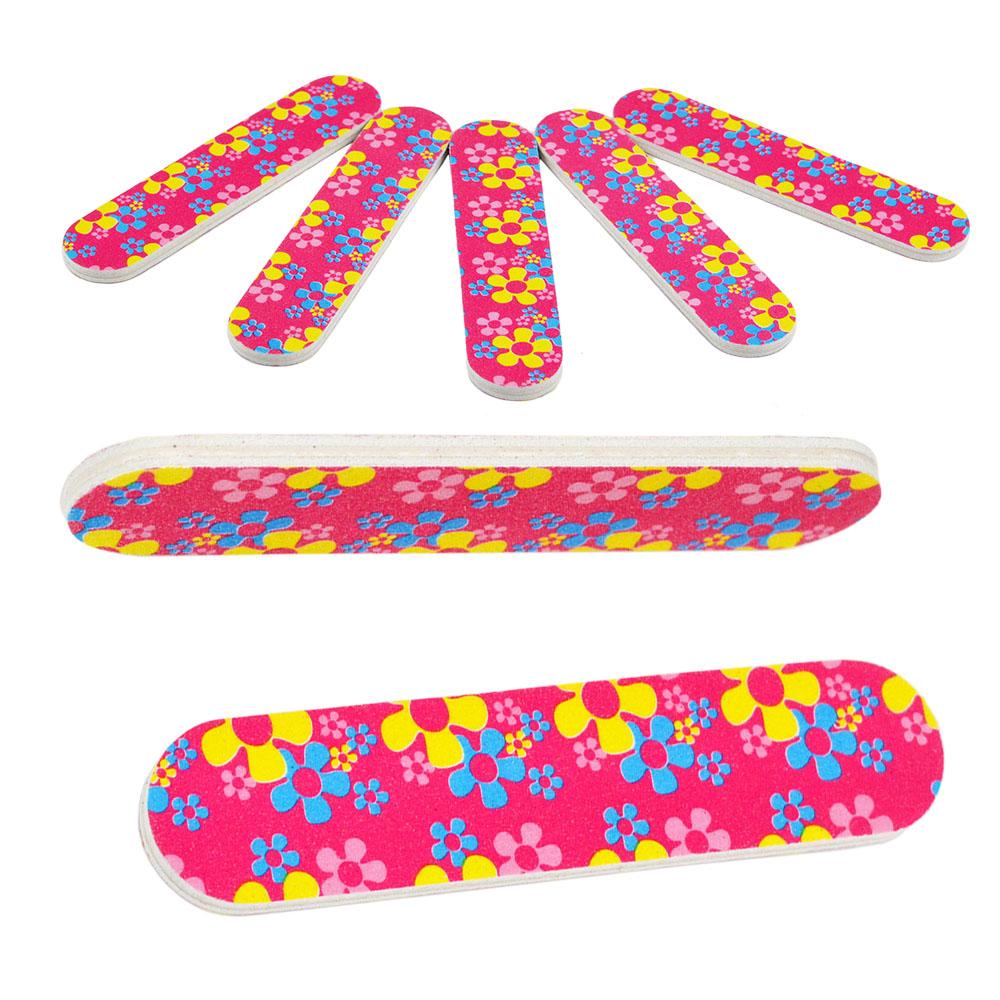 5Pcs/Set New 2-Side Nail Art Acrylic Polish Grind Sand File Block Buffer Manicure Tool(China (Mainland))