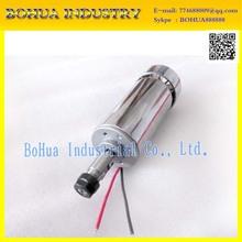 BEST! 300W Mini Spindle motor , DC12-48V ER11,12000rpm, Engraving milling grind air-cooling spindle motor/ ER11 spindle motor(China (Mainland))