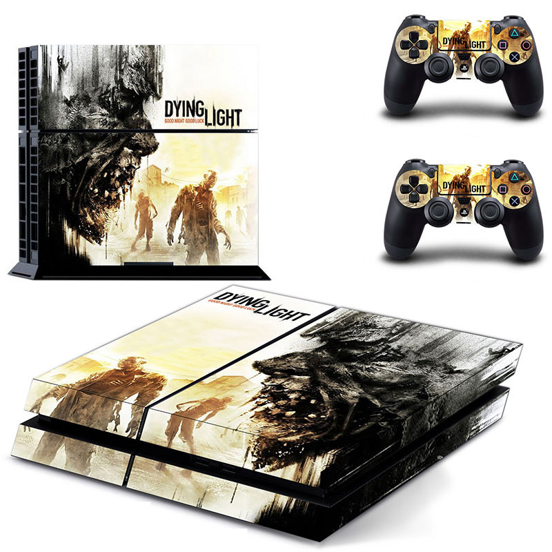 Dying Light PS4 Skin Sticker Decal For Sony PS4 Playstation 4 PS 4 Console and Controllers Stickers PS4 Accessory