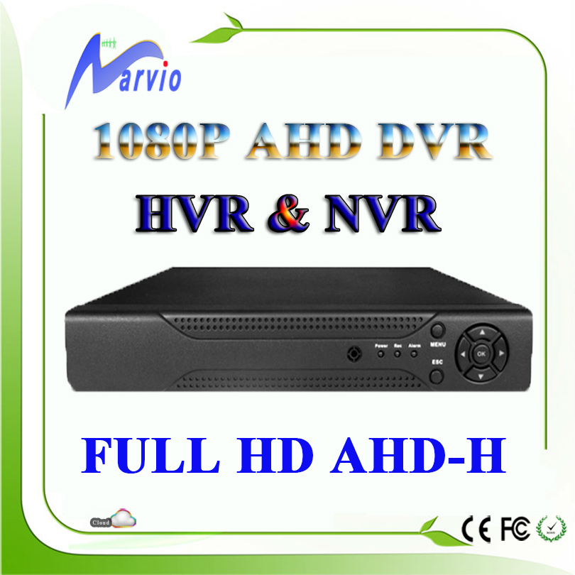 4ch 8ch Full HD 1080P  AHD-H AHD-M AHD DVR AVR Analog Video Recorder Free CMS and P2P remote monitor by phone, Free Shipping<br><br>Aliexpress
